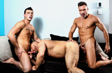 "Mickael Lane, Manuel Skye & Marco Vallant fuck in ""Ramming My Daughter's Boyfriend"""