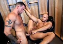 """Jessie Colter gets fucked by Sean Duran in """"Playroom Fuckers"""" from Pride Studios"""