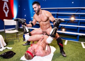 "Arad Winwin fucks muscle hunk Johnny V in ""Gear Play"" part four from Hot House"