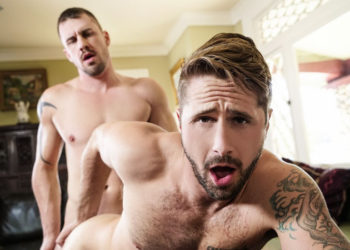 "Darin Silvers fucks Wesley Woods in ""Robbing Dick' part three from Men.com"