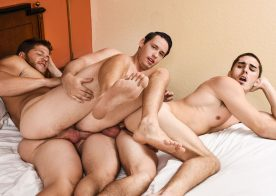 """Dirty cop Ashton McKay joins Tobias and Damien Kyle in """"Dick Patrol"""" part two"""