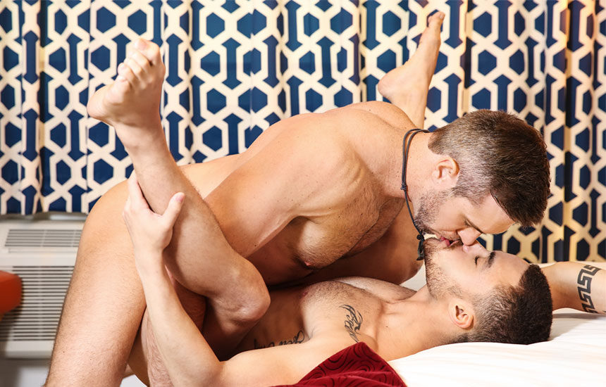 "Alex Mecum plows Beaux Banks' ass in ""Hunting Beaux"" part two from Men.com"