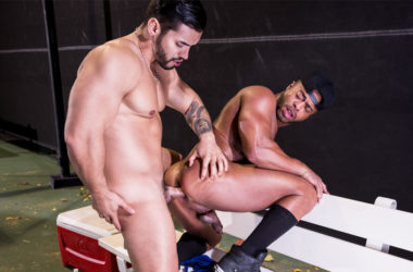 "Micah Brandt gets fucked by Arad Winwin in ""Spot Me"" part two from Hot House"