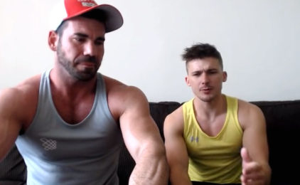 Billy Santoro sits down for a chat with the sexy Jake Porter