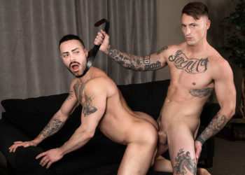 "Dane Stewart makes Carlos Lindo his little bitch in ""Guzzle It"" from Bromo.com"