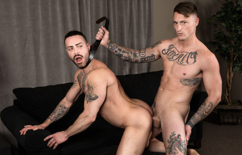"""Dane Stewart makes Carlos Lindo his little bitch in """"Guzzle It"""" from Bromo.com"""
