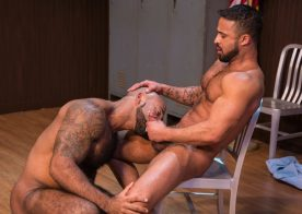 "Hung studs Daymin Voss and Damian Taylor suck in ""VICE"" part four from Raging Stallion"