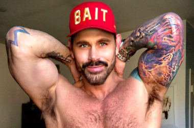 Is Jack Mackenroth getting ready for a career in porn?