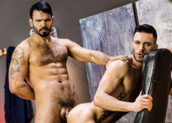 "Uncut muscle stud Jean Franko fucks Andy Star in ""The Specialist"" from Men.com"