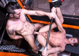 """Jimmy Durano pounds Rex Regan's ass in """"Spot Me"""" part three from Hot House"""