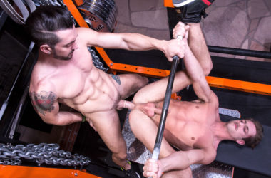 "Jimmy Durano pounds Rex Regan's ass in ""Spot Me"" part three from Hot House"