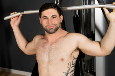 Beefy newcomer Logan rubs out two loads in his Sean Cody debut