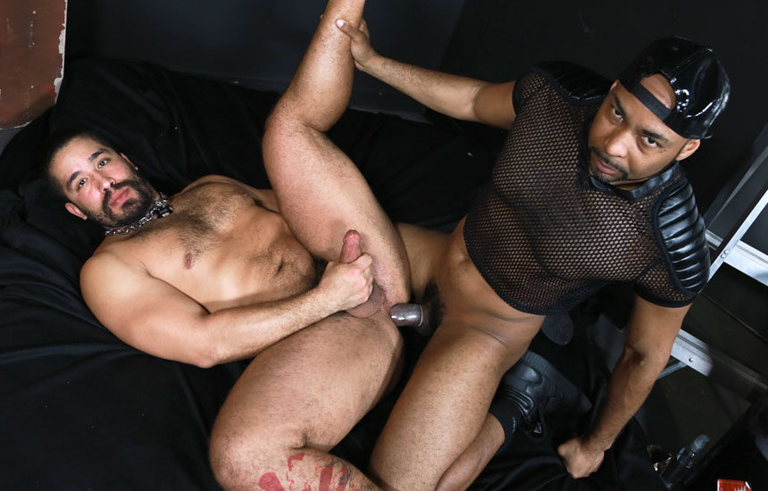 "Ray Diesel tops Trey Turner in ""Big Cock in the Back Room"" from Pride Studios"