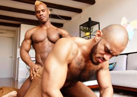 Louis Ricaute bottoms for Ridder Rivera and takes his big raw cock at TimTales