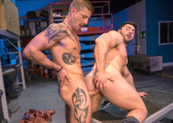 "Sean Maygers fucks undercover agent Derek Bolt in ""VICE"" part 3 from Raging Stallion"