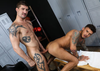"Sean Maygers plows Seth Knight's ass in ""Working Out Gets Me Horny"" – Pride Studios"