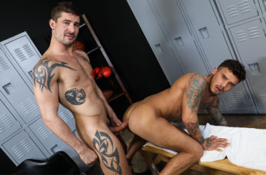 """Sean Maygers plows Seth Knight's ass in """"Working Out Gets Me Horny"""" – Pride Studios"""
