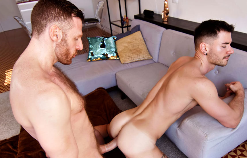 Newcomer Lukas Daken takes Tim Kruger's huge cock at TimTales