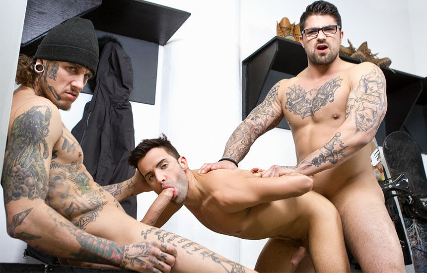 Straight guys fuck gay guys trailer fucking