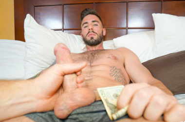 Bearded stud Blaze Burton gets his ass fucked at Reality Dudes
