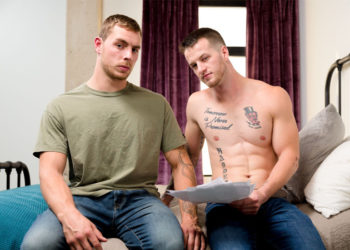 "Quentin Gainz bottoms for newcomer Carter Woods in Next Door Studios' ""Perfect Score"""