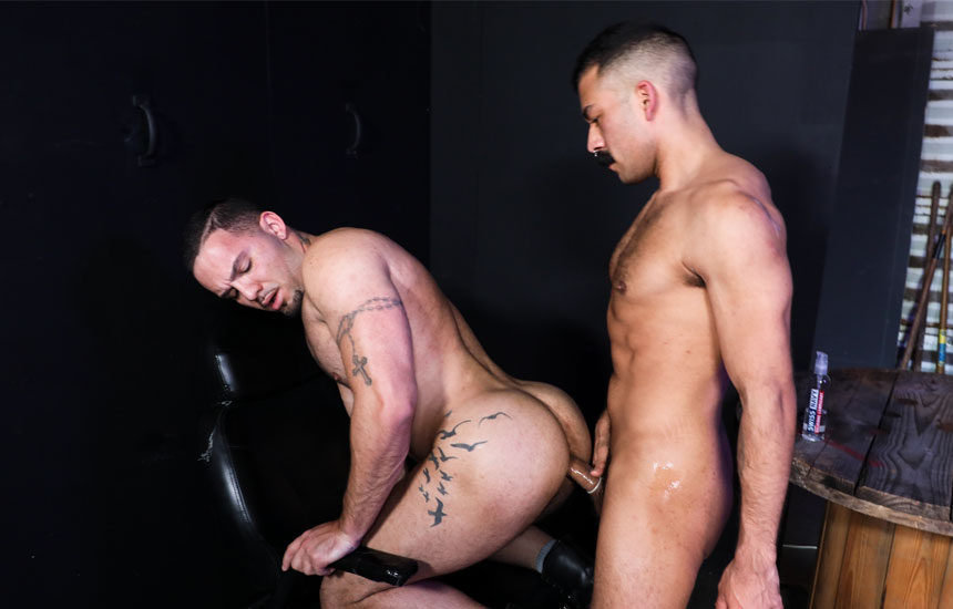 "Chad Stone fucks Julian Knowles in ""Big Dick Desire"" from Pride Studios"