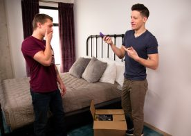 "Dalton Riley fucks his step-brother Elye Black in ""Making Moves"" from Next Door Studios"