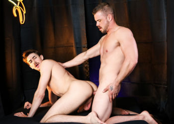 "Darin Silvers pounds Jack Hunter's ass in ""Exploring: Dick"" from Men.com"