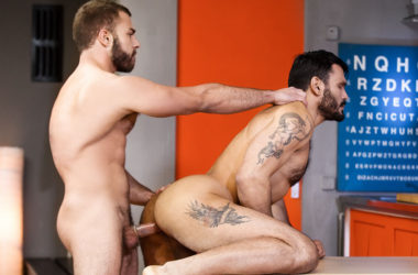 "Diego Reyes fucks Jean Franko in ""Elixir"" part two from Men.com"