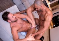 """Jason Vario pumps Logan Moore's ass in """"Hungry For Moore"""" part 6 – Falcon Studios"""