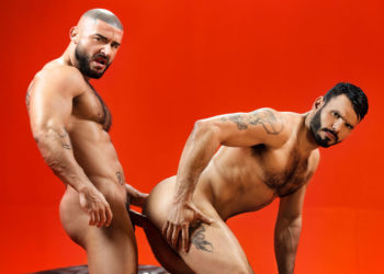 "Uncut stud Francois Sagat and Jean Franko flip-fuck in ""Sex Wish"" part one"