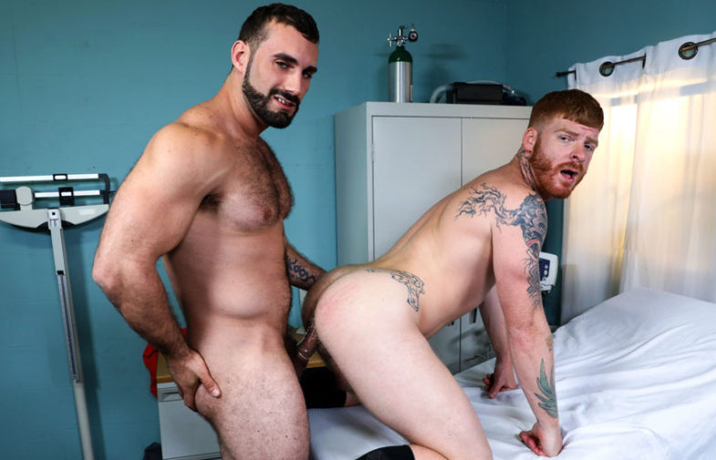 """Doctor Bennett Anthony gets fucked by Jaxton Wheeler in """"I Need to be Examined"""""""