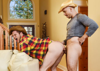 "John Magnum fucks Allen Lucas in ""The Ranch Hand"" part three from Men.com"