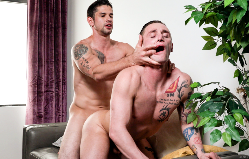 "Lance Ford and Jason Richards fuck in ""Rainy Day Play"" – Next Door Studios"