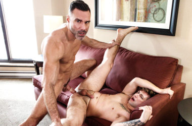 "Liam Emerson takes Manuel Skye's daddy big dick in ""To Be Loved"" from Men.com"