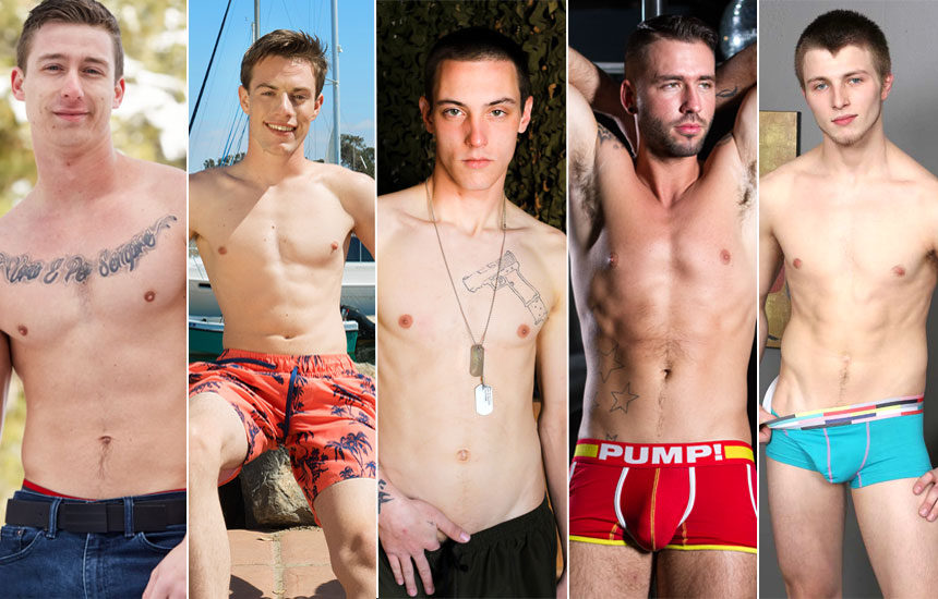 Solo performances from Corbin Fisher, Sean Cody, Active Duty, Reality Dudes & Chaosmen