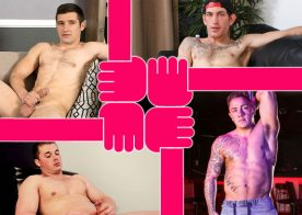 Sean Cody's Hayes, Big Saint at Active Duty, Next Door's Lucas Johnson & Jayden at Reality Dudes