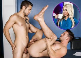 "Dante Colle fucks Casey Jacks in ""Ass Controller"" part 9 (starring Alaska Thunderfuck)"