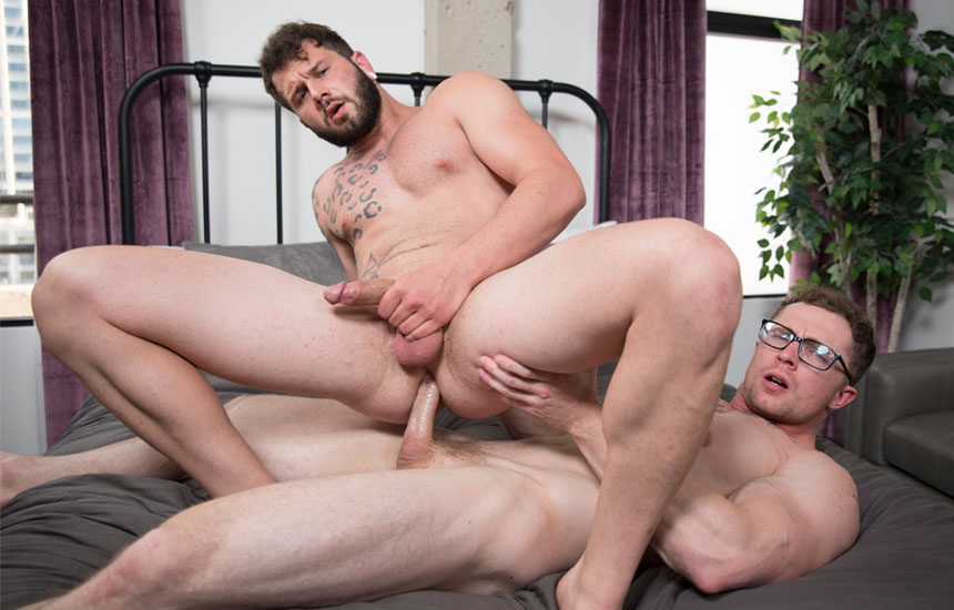 "Markie More and Johnny Hill flip-fuck in ""Urgent Urges"" from Next Door Studios"
