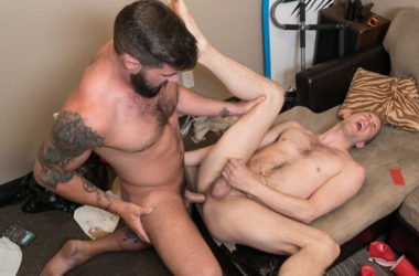 Blaze Burton spanks and fucks Jay Taylor at Reality Dudes