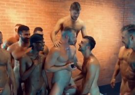 Brian Bonds proposes to Mason Lear after filming a gangbang for  Raw Fuck Club
