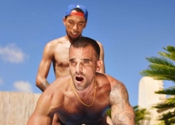 Franklin Acevedo buries his big uncut dick inside Damien Crosse at TimTales