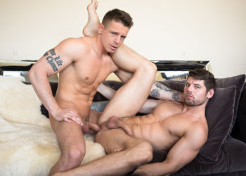 "Gunner Canon and Connor Halsted fuck in ""Cheating Revenge"" from Next Door Studios"