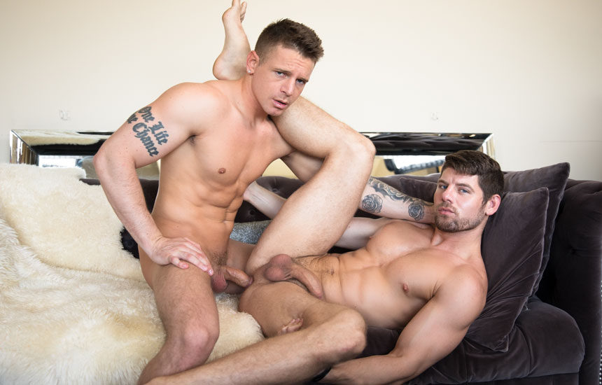 """Gunner Canon and Connor Halsted fuck in """"Cheating Revenge"""" from Next Door Studios"""