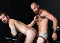 """Jay Donahue pleases James Stevens and gets fucked in Pride Studios' """"Bare Playroom"""""""