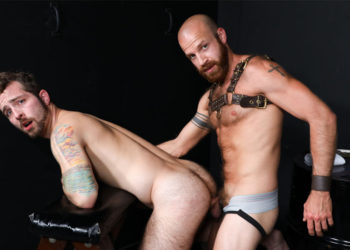"Jay Donahue pleases James Stevens and gets fucked in Pride Studios' ""Bare Playroom"""