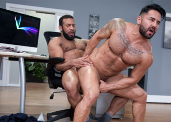 "Bruno Bernal gets fucked by his boss Jay Landford in ""Rideshare"" part 3 – Raging Stallion"