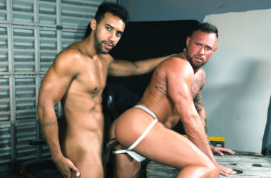 "Jay Alexander fucks Michael Roman in ""Give Me That Big Dick"" from Pride Studios"