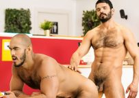 """Louis Ricaute and Jean Franko fuck each other in """"Reformed Sinner"""" part 1 from Men.com"""