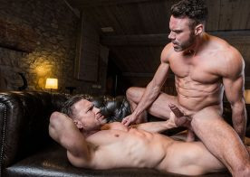 "Manuel Skye bottoms for the 1st time in ""Daddy's Good Boy"" part 2 from Lucas Entertainment"